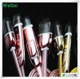 Kabel van de Gegevens USB van de manier de Nylon Gevlechte voor Mobiele Telefoons (wy-CA04)