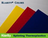 Couleurs Klarity - basse température d'attelles matériau thermoplastique