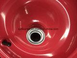 Колесо 16inch 4.00-8 воздуха кургана колеса резиновый для тележек инструмента