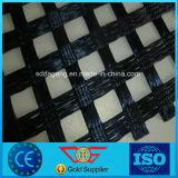 Из тканого полиэфирного волокна с покрытием из ПВХ Geogrid 80-30КН