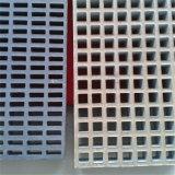 Geformter FRP GRP Fiberglas-Fußboden umfaßte Vergitterung