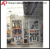 Máquina de fatura de tijolo automática do bloco Qt10-15 com linha de produção completa
