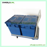 Faltbare Plattform-Stahlfurnierholz-Ladeplatten-Karre