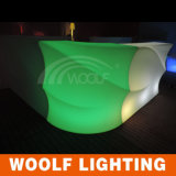 Contatore di plastica ricaricabile impermeabile della barra del locale notturno LED