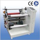 Máquina automática de corte longitudinal para no tejida