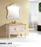 Vanité fixée au mur de salle de bains de vanité de salle de bains de PVC de modèle moderne