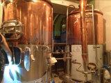 Tanque de sacarificação de cerveja em aço inoxidável