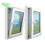 緑色の二重ガラスアルミニウム振動Windows