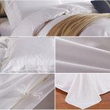 Insiemi bianchi 100% della tela di base dell'hotel del tessuto di cotone del commercio all'ingrosso della fabbrica