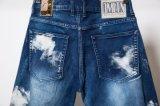 Тонкий Biker мужчин джинсы мото джинсы