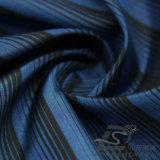 50d 290t 물 & 바람 저항하는 아래로 형식 재킷 재킷에 의하여 길쌈되는 줄무늬 자카드 직물 100%년 폴리에스테 양이온 털실 필라멘트 직물 (X026)