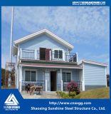 조립식 집으로 가벼운 강철 구조물 목조 가옥