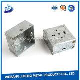 As peças de estamparia de metal de folha de OEM com a solda e perfuração