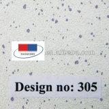 De pvc Gelamineerde Raad van het Plafond van het Gips met Aluminiumfolie Backing305