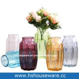 De kleurrijke Vaas van het Glas met het Bengelen