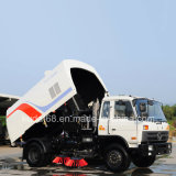 Viaje en carretera Sweeper con chasis Dongfeng