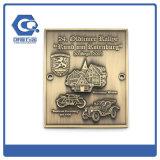 O metal agradável morre medalhas dos presentes da promoção da carcaça para o vencedor