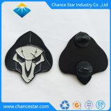 Custom amostra grátis esmalte macio o pino presilha de metal
