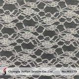 Vestido de material textil de nylon de flores al por mayor de tejido de encaje (M5129)