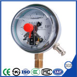 高品質の耐衝撃性の電気接触の圧力計