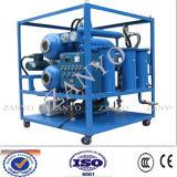 Двойник ставит масло обрабатывая, двойной фильтр для масла Vacuumtransformer Vacuumtransformer этапов