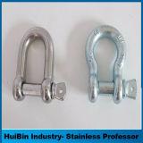 ステンレス鋼長いDの手錠