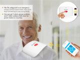 緊急アラームSosアラームが付いている無線移動式呼出しGSM SMSの医学の警告システム