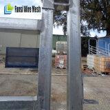 6つの棒鋼鉄牛ヤードのパネル電流を通される