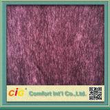 Plaine et Geometric Designed Sofa Fabric Made de Chenille Polyester