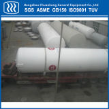 Opslag van de van CERTIFICATIE ASME GB Tank van het Roestvrij staal de Horizontale Vloeibare