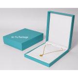 Mode bijoux de luxe collier blanc personnalisé un emballage cadeau Case fabricant