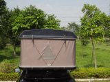 Tenda superiore di campeggio di alluminio del tetto del materiale del Palo e dell'automobile del tessuto della tela di canapa
