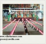 R9m 5の繊維の鋼片及び円形の連続鋳造機械