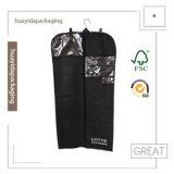 Foldableスーツ袋をハングさせるポリエステルビジネス