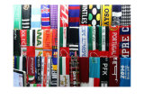100%Acrylic Winter Knitted Scarf, Football Scarf