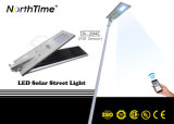 Control inteligente de 30W Integrated solar Calle luz LED con 3-Years-Warranty