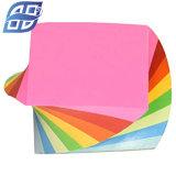 Cube coloré de bonne qualité mémo Notes adhésives pour Office