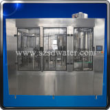 empaquetadora de relleno de consumición de la botella de agua que capsula que se lava 3-in-1