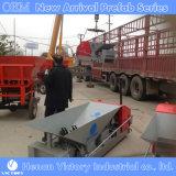 El panel de pared de concreto máquina mediante el reciclaje de materiales agregados jj