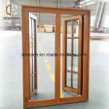 Novo estilo de design da grade da janela francesa fixada pela Europa