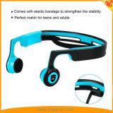 青の開いた耳の無線骨導のBluetooth Steroのヘッドホーン