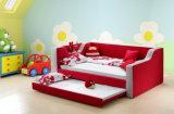2017 새로운 최신 아이들 침대 단 하나 현대 직물 침대