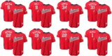 Ligue nationale de majestueux 2018 MLB All-Star Game équipe écarlate Baseball Jersey
