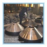 Macchinario minerario dell'alta del manganese di pezzo fuso dell'acciaio del cono del frantoio fodera della ciotola