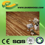 Natural, carbonizado, tipo revestimento de bambu do tigre do clique