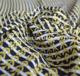 Tela Chiffon 100% del Crepe del poliester para la alineada/la cortina