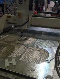 Sola máquina para corte de metales del CNC de la pista