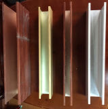 Soffitto quadrato di alluminio di Supsended del soffitto del deflettore del soffitto del comitato della scanalatura del soffitto del metallo