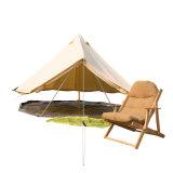Toldo adaptável mais forte da barraca da lona 5m Bell de Pólos para acampar
