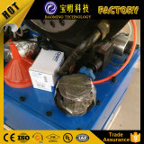 12V 24V manual de serviços móveis da máquina de crimpagem da mangueira